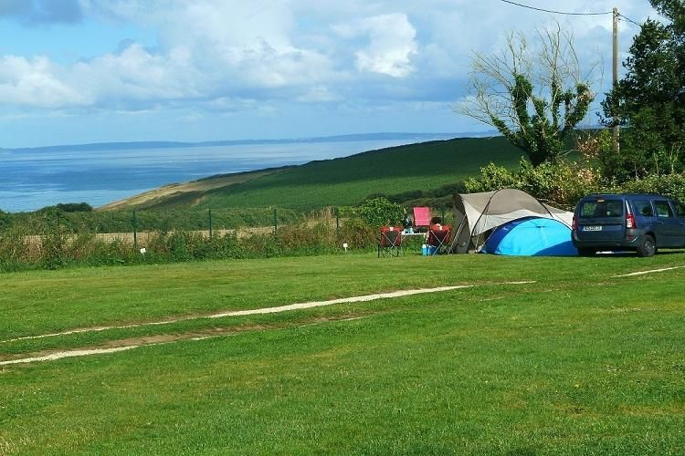 Camping d'Ys - Vue du camping