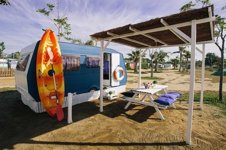 Camping Miramar - Vue du camping