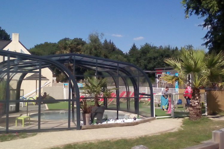Camping Le Panorama - PISCINE COUVERTE