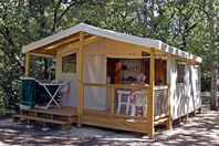 Camping Naturiste La Genèse, Canvas Tent without bathroom facilities