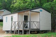 Camping Naturiste Le Petit Arlane, Mobile Home with Terrace