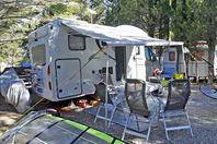 Camping Naturiste Le Clapotis, Pitch (rates for 2 people)