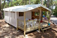 Camping Naturiste Le Clapotis, Canvas Tent without bathroom facilities