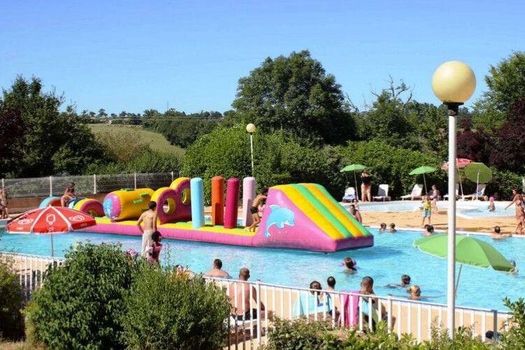 Camping Domaine de Combelles - Piscine