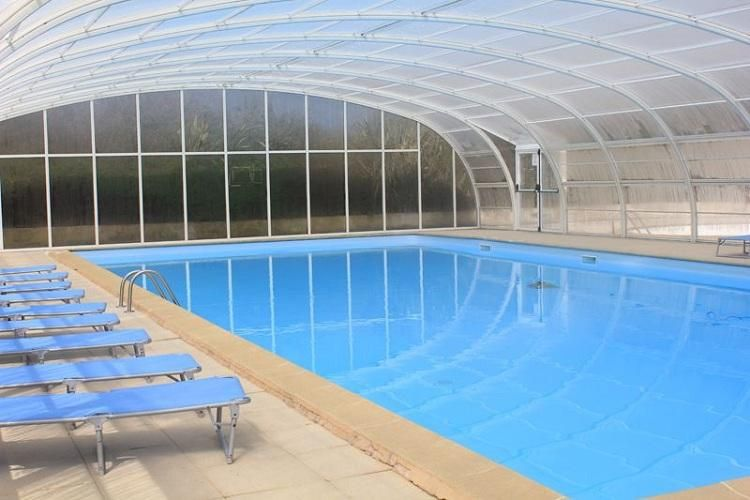 Camping Village de Roguennic - Piscine couverte