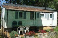 Montolieu, Mobil Home Terrasse (Tarif 4 personnes)