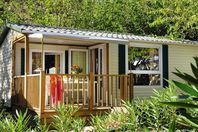 Les Menhirs, Mobil Home Terrasse