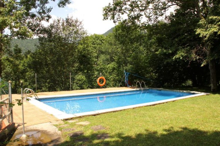 Camping Abadesses - Piscine