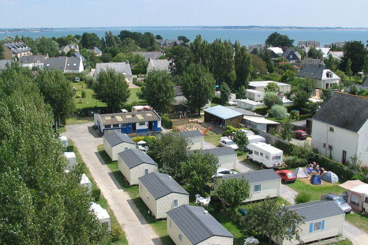 Camping Ty Breiz - Vue aérienne