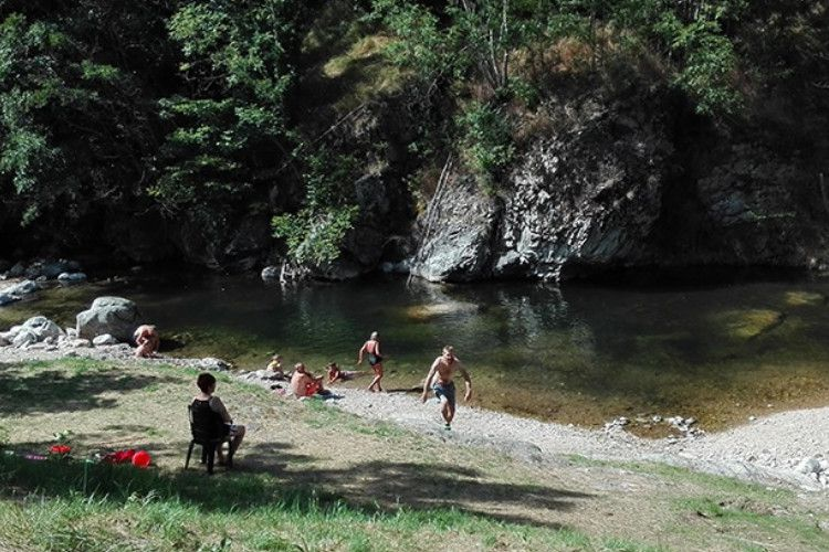 Camping Les Rives de l'Ardèche - Rivière