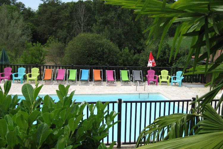 Camping Domaine Papillon - Piscine