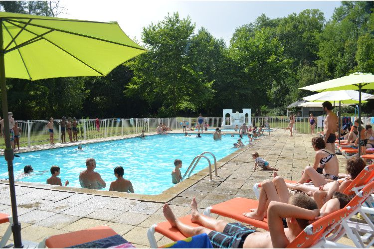 Camping Audinac Les Bains - Piscine