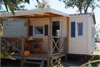Les Palmiers, Casa mobile con terrazza
