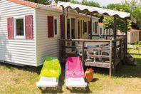 Domaine d'Arnauteille, Mobil Home Terrasse