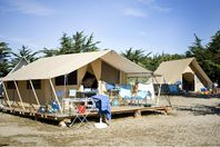 Huttopia Noirmoutier, Wood and Canvas Tent without bathroom facilities