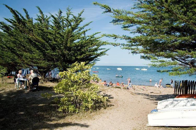 Camping Huttopia Noirmoutier -Vue du camping