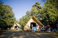 Huttopia Oléron Les Pins, Tente Toile et Bois sans sanitaires