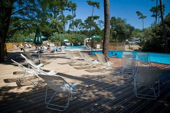 Camping Huttopia Oléron Les Pins - Piscine