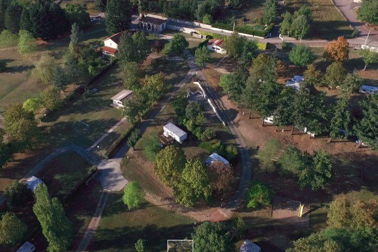 Camping de l'Orangerie - Vue aérienne