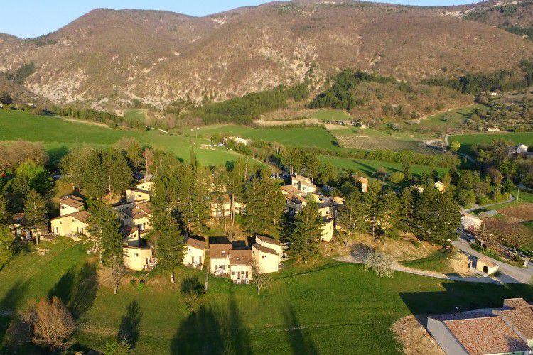 Village Club La Drôme Provençale - Vue aérienne