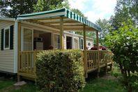 Le Ty Nadan, Mobil Home Terrasse