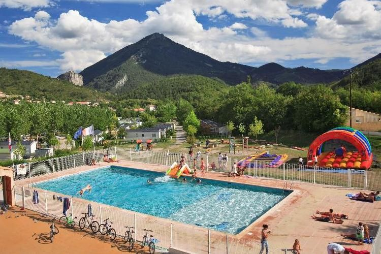 Camping L'International de Castellane - Vue du camping