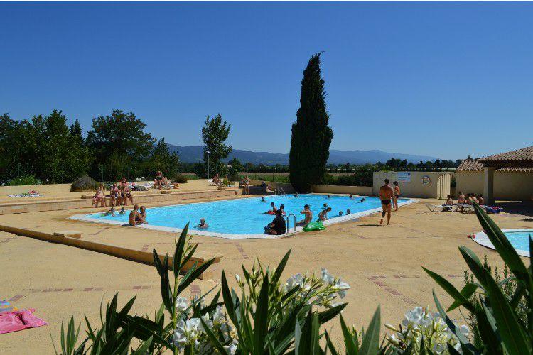 Camping Durance Lubéron - La piscine