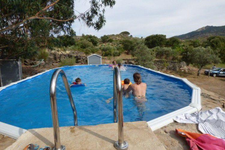 Camping Camping Beira-Marvao Alentejo - Rustieke camping met zoutwater zwembad