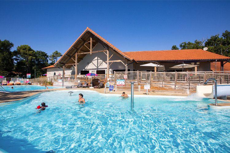 Camping Le Domaine de Soulac - Espace aquatique