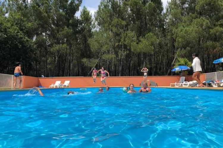Camping Le Laha - piscine