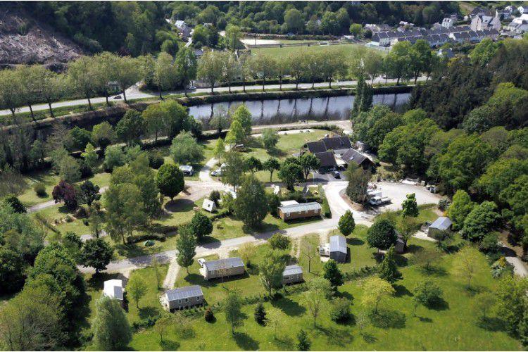 Camping De Rodaven - vue aérienne