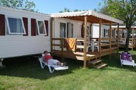 Le Cap Agathois, Mobile home with terrace