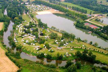 Camping Lac des Varennes - Vue aérienne