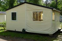 Le Saint Laurent, Wood and Canvas Tent without bathroom facilities