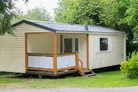 Camping de La Plage, Mobil-Home Terrasse