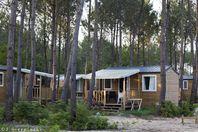 Fram Nature Soustons, Mobil Home Terrasse