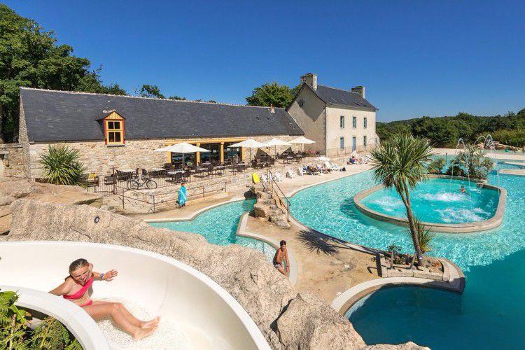 Camping L'Orangerie de Lanniron - Parc aquatique