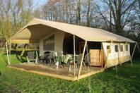 Le Pin Parasol, Wood and Canvas Tent without bathroom facilities