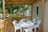 Norcenni Girasole Club, Mobilheim mit Terrasse (Preis für 4 Personen)