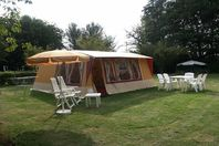 La Plaine Tonique, Canvas tent without bathroom facilities