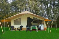 Domaine du Verdon, Wood and canvas tent without bathroom facilities