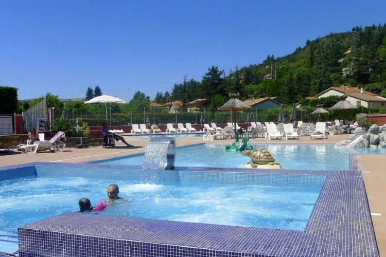 Camping Les Rivages - Piscine