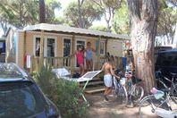 Park Albatros, Mobilheim mit Terrasse (Preis für 6 Personen)