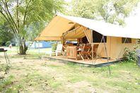 La Croix du Vieux Pont, Canvas tent without bathroom facilities