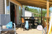 Le Rosnual, Mobil Home Terrasse