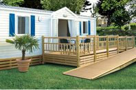 Le Rosnual, Mobile home with terrace - PRM