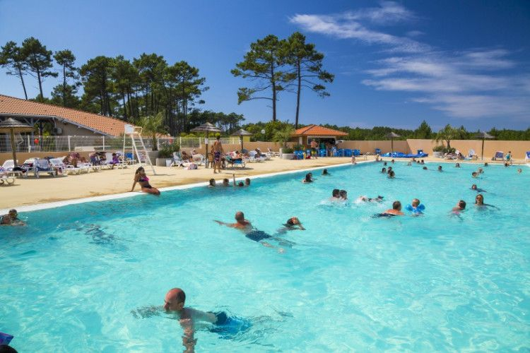 Camping Les Oyats - Piscine