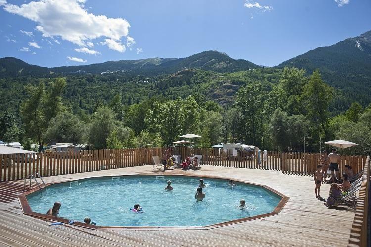 Camping Huttopia Vallouise - Piscine