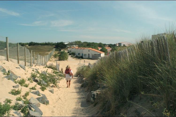 Club Vacanciel Saint Hilaire de Riez - Accès plage