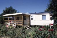 Le Curty's, Mobile Home with Terrace